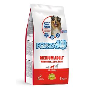 FORZA10 DOG MEDIUM ADULT MAINTENANCE CERVO E PATATE 12,5KG