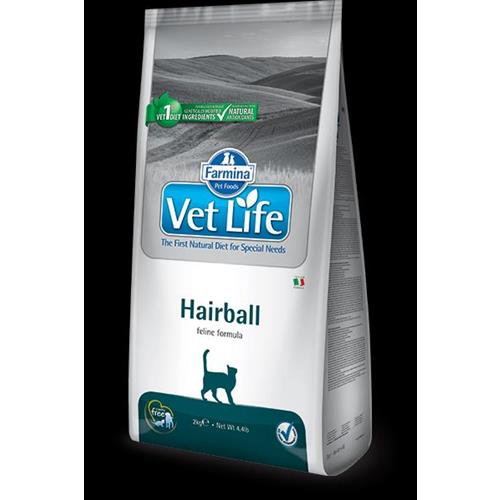 FARMINA VET LIFE NATURAL DIET HAIRBALL 2KG