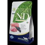 N&D GRAIN FREE ADULT AGNELLO E MIRTILLO 1,5KG